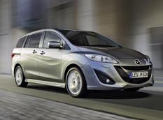Mazda 5 подверглась внеочередному рестайлингу