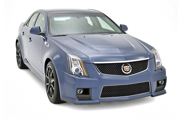 Cadillac CTS-V Stealth Blue и Silver Frost Edition