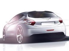 В Женеву привезут Peugeot 208 HYbrid FE Concept