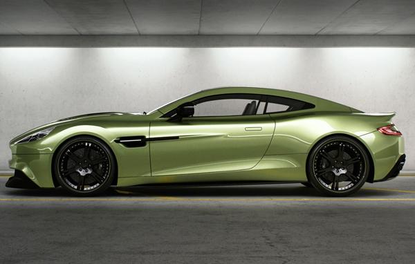 Aston Martin Vanquish в тюнинге Wheelsandmore