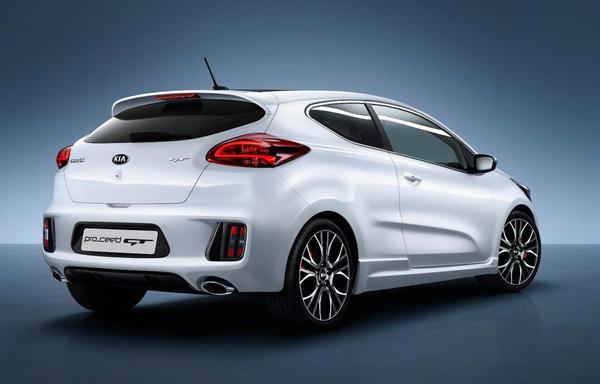 Kia объявила характеристики Pro Cee'd GT