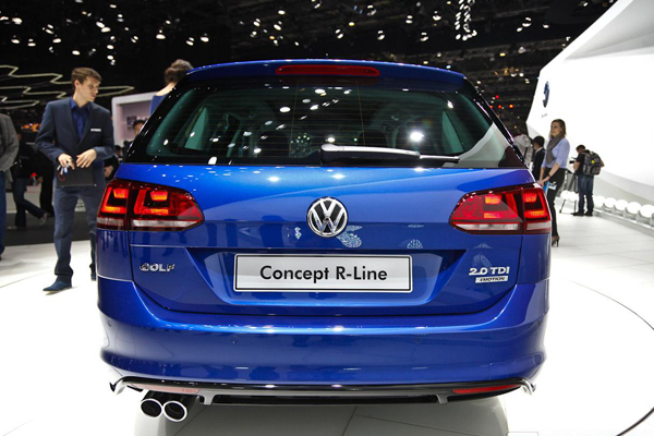 VW Golf Estate R-Line Concept - женевский дебют