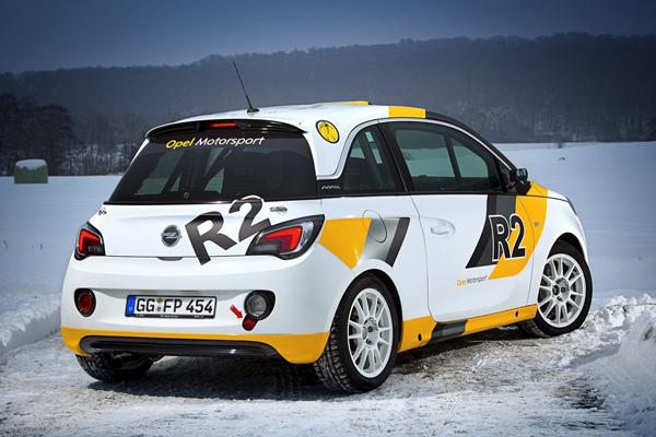 Opel анонсировал Adam Rocks и R2 Rallye
