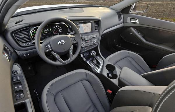 Kia представила обновленный Optima Hybrid 2013