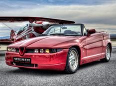 Vilner восстановил Alfa Romeo Zagato Roadster