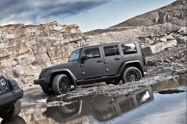 A. Kahn Design вновь освежил Jeep Wrangler