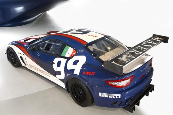 Maserati показал болид GranTurismo MC Trofeo 2013