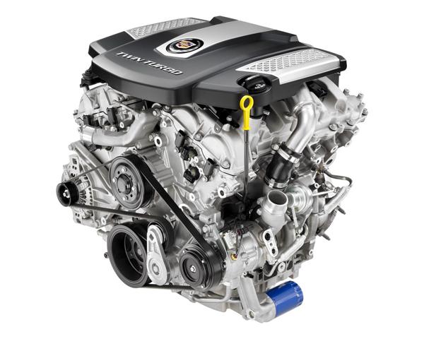 Cadillac CTS 2014 получил твин-турбо двигатель