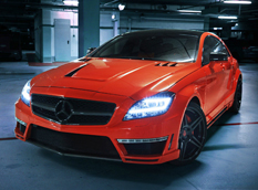GMC обновил Mercedes-Benz CLS 63 AMG Stealth