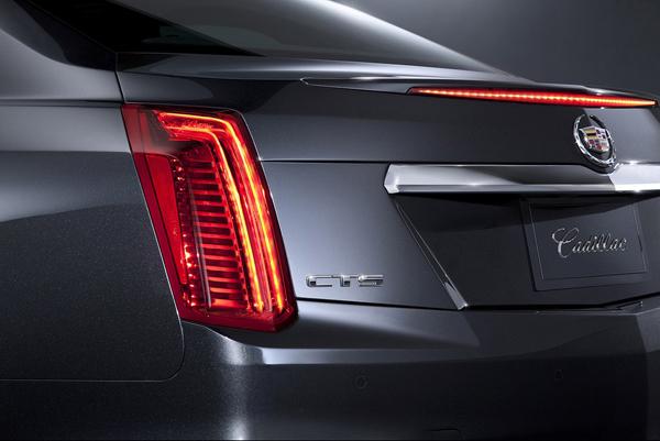 В сети появились первые снимки Cadillac CTS 2014