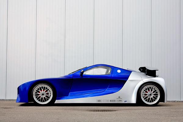 Самым быстрым автомобилем станет Weber F1