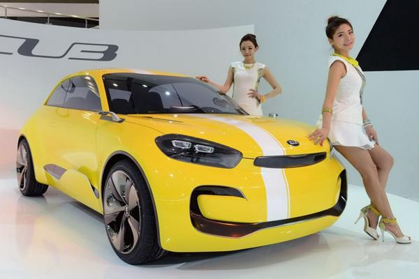 Kia представила новый сити-кар CUB Concept