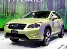Subaru XV Crosstrek Hybrid показали в Нью-Йорке