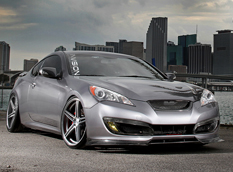 Hyundai Genesis Coupe от Invision Automotion