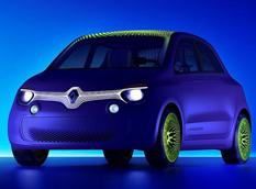 Twin'Z Concept - новый электромобиль от Renault