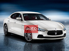 В сеть просочились фото седана Maserati Ghibli