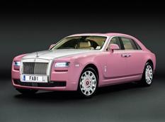 Rolls-Royce показал уникальный лимузин Ghost FAB1