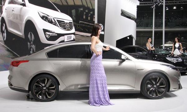 Kia показала в Шанхае новый концепт Horki-1