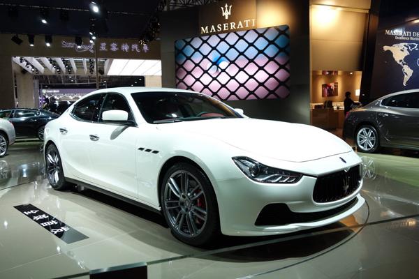 Maserati Ghibli - Шанхайская премьера