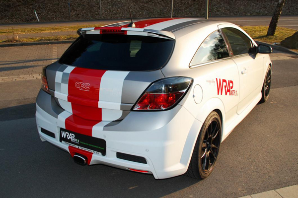 Opel Astra H OPC Nurburgring Edition от Wrap Works