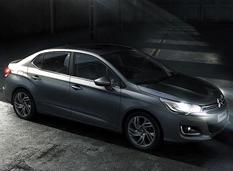 Citroën представил снимки бюджетного седана С4