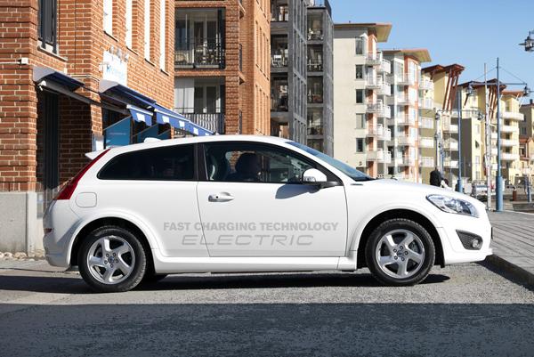 Компания Volvo обновила электрокар C30 Electric