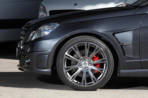 Mercedes-Benz E350 CDI от KTW Tuning и Brabus