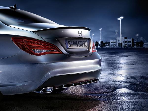 Mercedes подготовил новые опции для модели CLA