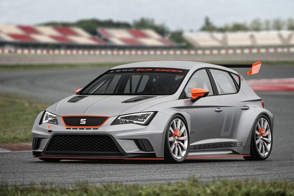 Seat анонсировал гоночный болид Leon Cup Racer