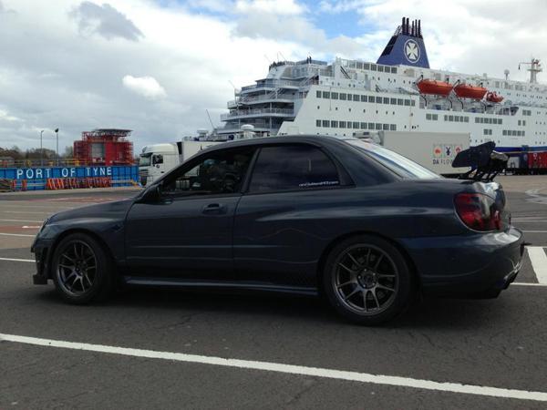 Subaru Impreza STI от Revolution Motorstore