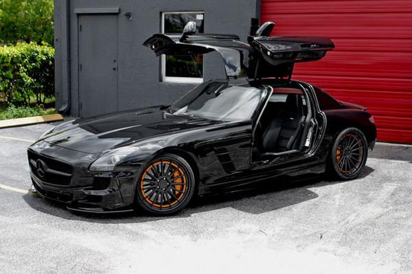 Mercedes-Benz SLS AMG от Wheels Boutique