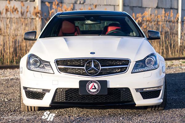 Mercedes C63 AMG от Inspired Autosport и SR Auto