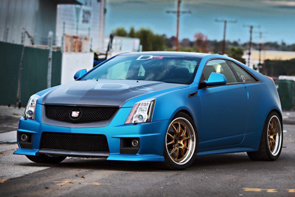 Cadillac CTS-V Coupe от D3 Group