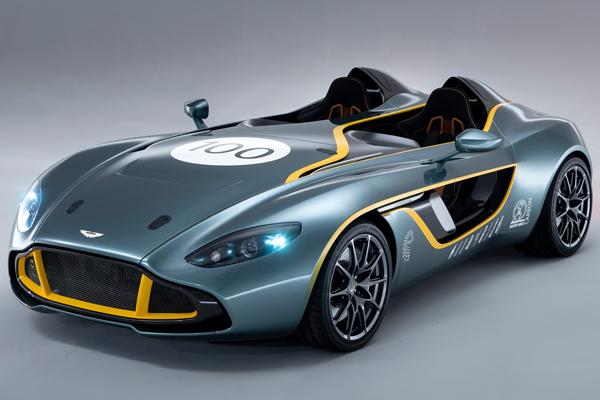 Aston Martin представил концепт CC100 Speedster