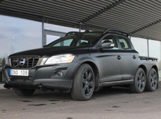 Фотошпионы поймали трехосный Volvo XC60