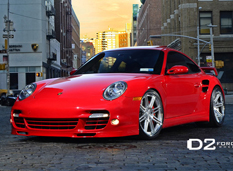 Porsche 911 Turbo (997) от D2Forged Wheels