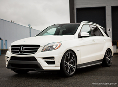 Mercedes-Benz ML550 в исполнении SR Auto Group