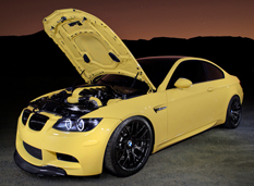 BMW M3 Coupe (E92) Dakar Yellow