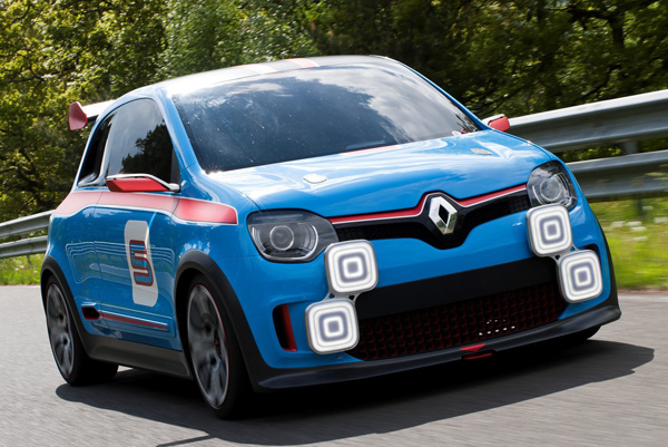 Renault презентовал концепт Twin'Run Concept