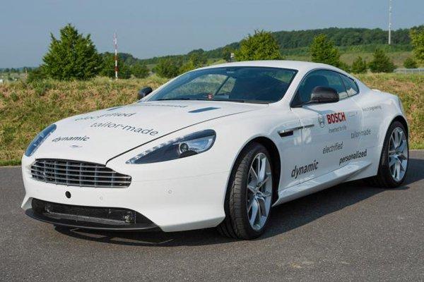 Спорткар Aston Martin DB9 превратили в гибрид