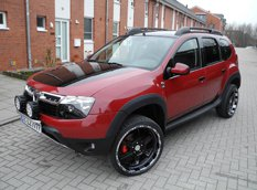 LZParts показал пакет Admirable для Dacia Duster