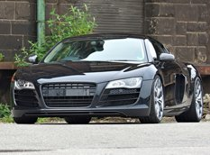 Audi R8 V10 Phantom Black Panther от OK-Chiptuning