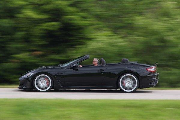 Maserati GranCabrio MC от Novitec Tridente