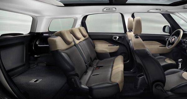 Fiat показал семиместный компактвэн 500L Living