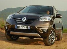 Renault слегка обновил кроссовер Koleos