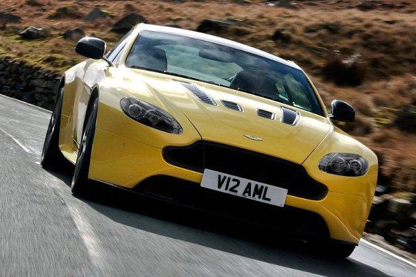 Aston Martin рассекретил динамику V12 Vantage S