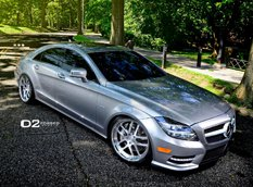 Mercedes-Benz CLS550 �� ������ D2Forged Wheels