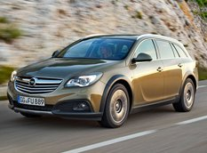 Opel рассекретил Insignia Country Tourer