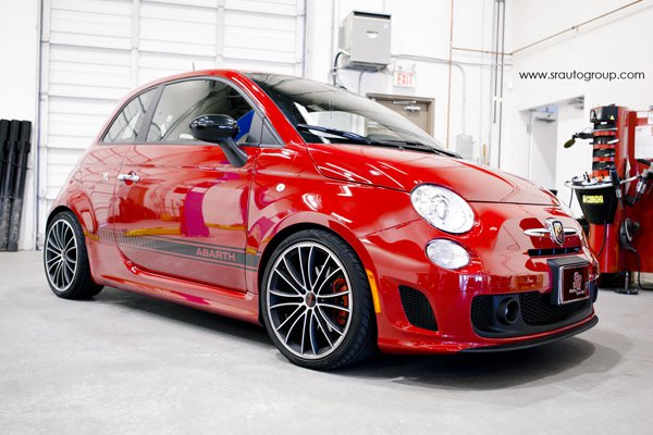 Abarth 500 в тюнинге SR Auto Group