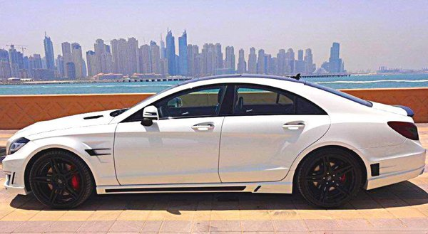 Mercedes-Benz CLS500 GSC от Spectrum Car Design